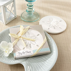 """By the Shore"" Sand Dollar Coaster"
