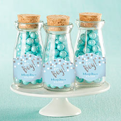 Personalized Milk Jar - Its a Boy! (Set of 12)