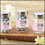Personalized Mini Mason Jar - Little Princess (Set of 12)
