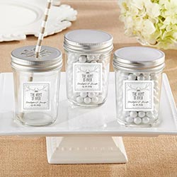 Personalized Mason Jar – The Hunt Is Over (Set of 12)
