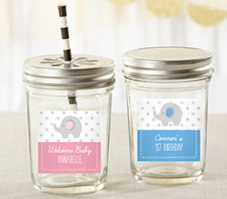 Personalized Mason Jar - Little Peanut (Set of 12)